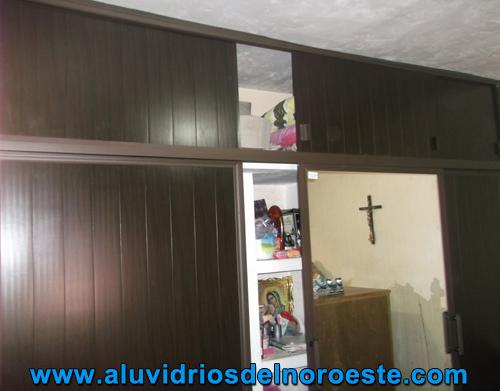 Closet de PVC 1 - Aluvidrios