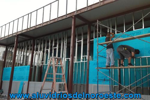 Construcción de Durock 2 - Aluvidrios