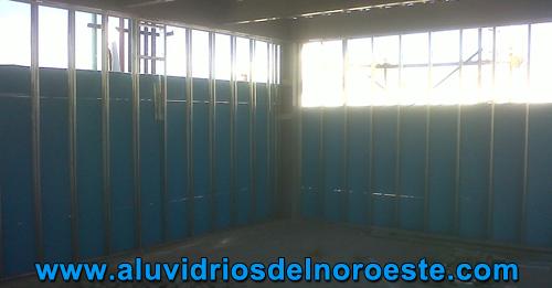 Construcción de Durock 3 - Aluvidrios
