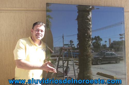 Instalación de cristal 1 - Aluvidrios