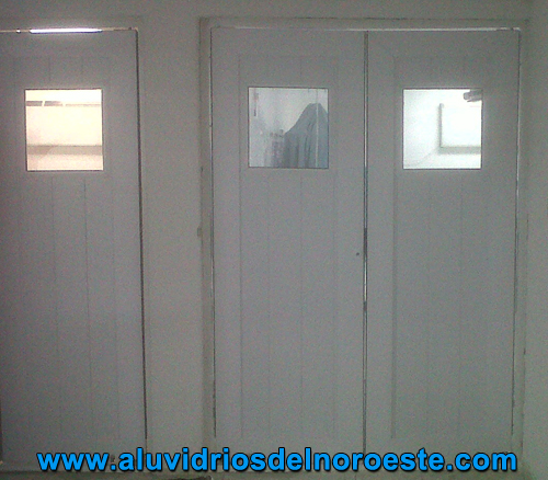 Puertas de PVC 1 - Aluvidrios