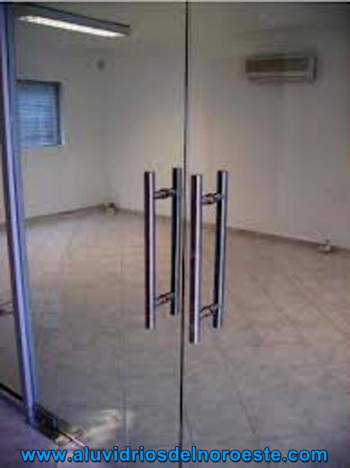 Aluminio y vidrio aluvidrios del noroeste - Puerta de cristal abatible ...