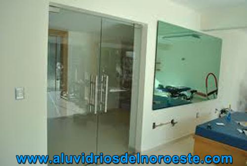 Puertas de cristal templado 2 - Aluvidrios