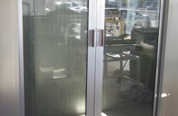 Puerta corrediza Eurovent – Aluvidrios