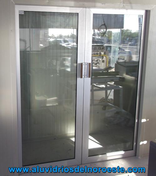 Aluminio y vidrio aluvidrios del noroeste - Puertas de aluminio y cristal ...