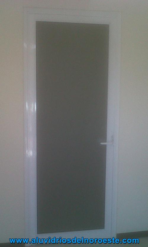 puertas de aluminio para interiores u aluvidrios